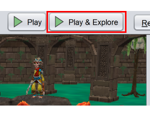 Click the 'Play and Explore' button.