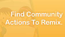 Find Community Actions To Remix