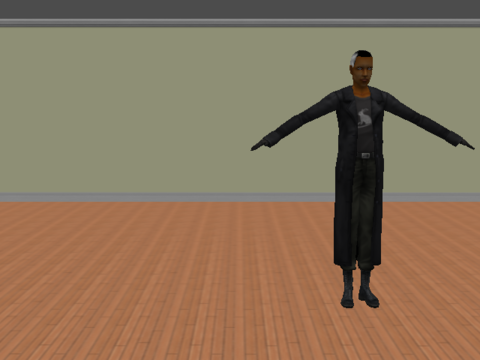 Morpheus Shows Off His Moves