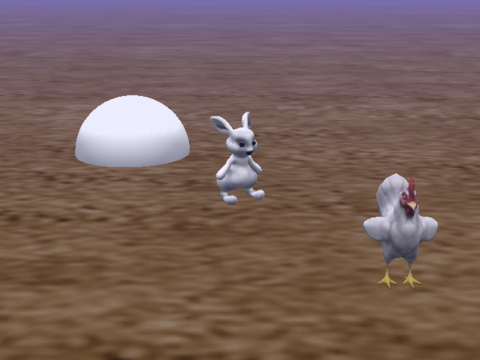 Bunny and Chicken Random Turns