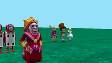 (red Panda) looking for  alice