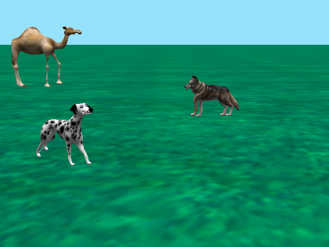 Walking Quadrupeds... Sort of...